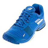 Babolat Junior Jet All Court Tennis Shoes, Diva Blue/White (Kids' Size 5)