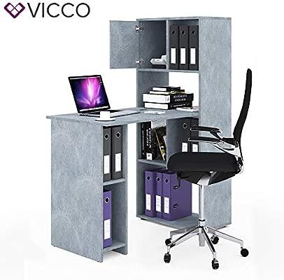 Vicco - Estantería para Escritorio (144 cm de Altura, Ideal para ...