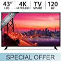 "VIZIO E43-D2 SmartCast 43"" Class E-Series Full HD Smart, LED TV 1080p 120Hz"