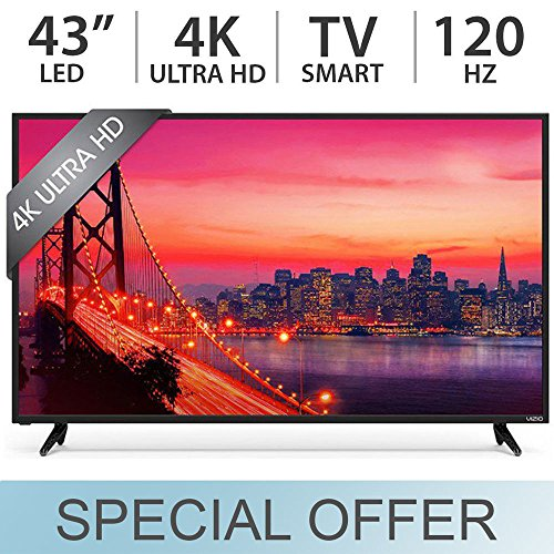 "VIZIO E43-D2 SmartCast 43"" Class E-Series Full HD Smart, LED TV 1080p 120Hz"