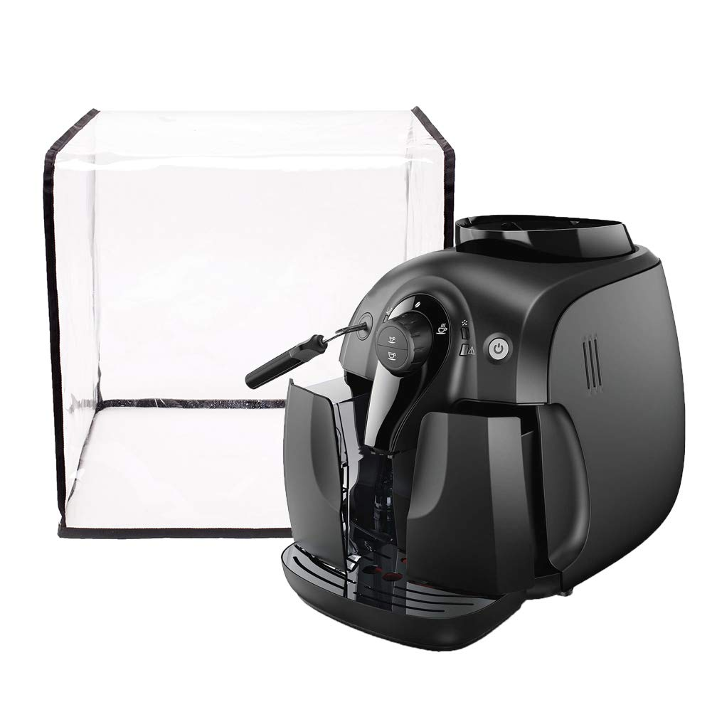 Coffee Maker Cover, 14.5''W x 15''D x 14.5''H, Waterproof Coffee Maker Dust Cover, Universal Kitchen Appliance Cover JJZ89