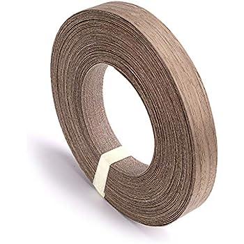 Walnut Wood Edge Banding Tape 7/8'' 25' Roll - Wood Lumber