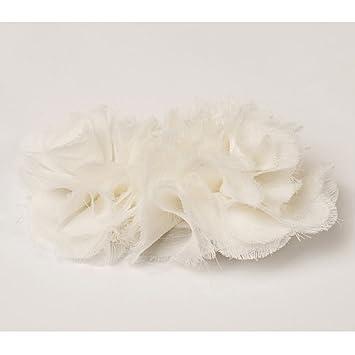 Amazon white flower hair clip for girls the magnolia hair white flower hair clip for girls the quotmagnoliaquot mightylinksfo