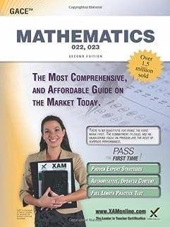 amazon com georgia gace high school math assessment 022 023 w rh amazon com 9th Grade Math Printable Math Study Guides