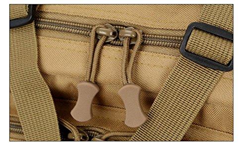 3p attacco tattico backpackers militare all'aperto Umhängetasche impermeabile pacchetto CS Camouflage