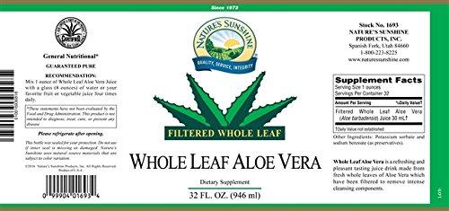 Aloe Vera, Whole Leaf Liquid 32oz