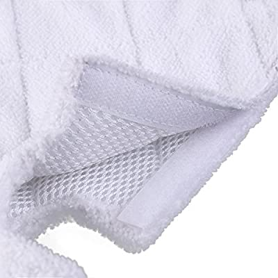 GARYOB 3 Pack Replacement Micorfiber Cleaning Pads for Euro Pro Shark Pocket Steam Mop S3550/ S3901/ S3601 /S3501