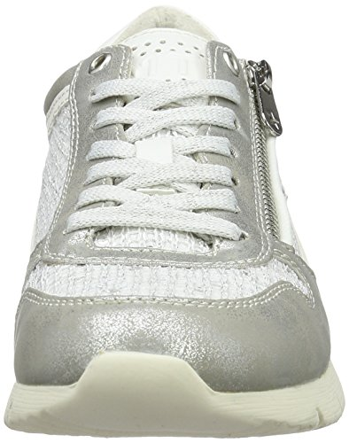 Marco Tozzi Women's 23702 Low-Top Trainer White (White Comb 197) AJtxzKpp8
