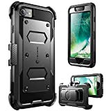 iPhone 8 Case, [Armorbox] i-Blason built in [Screen Protector] [Full body] [Heavy Duty Protection ] Shock Reduction / Bumper Case for Apple iPhone 7 2016 / iPhone 8 2017 Release (Black)