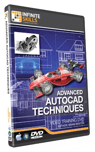 Advanced AutoCAD Training DVD - Tutorial Video. Over 10 H...