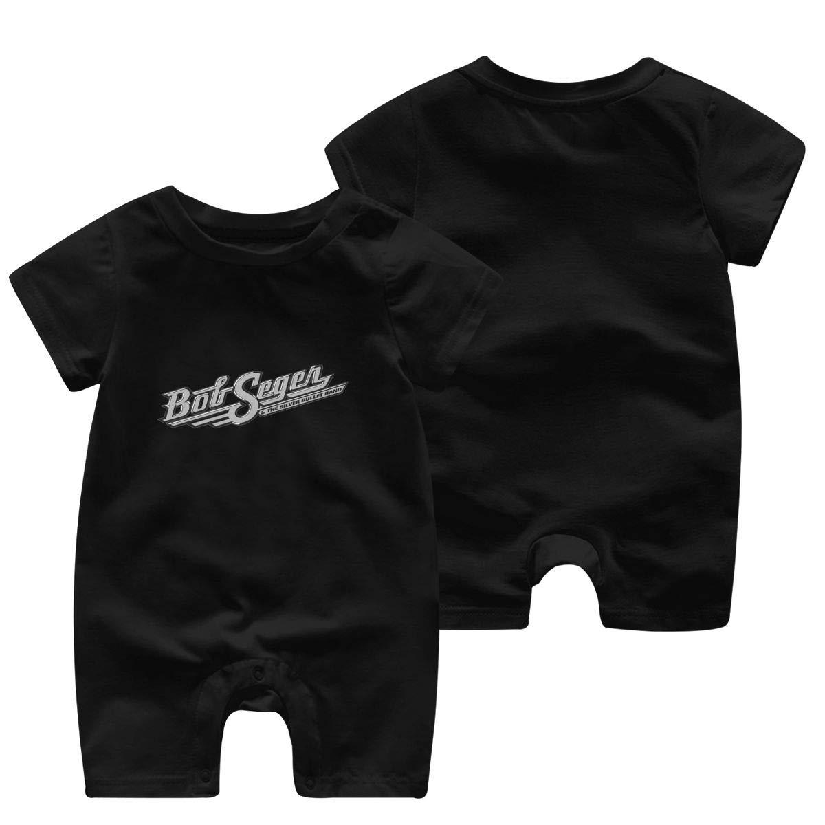WangSiwe Bob Seger Infant Boy Girl Short Sleeve Jumpsuit Summer Outfits