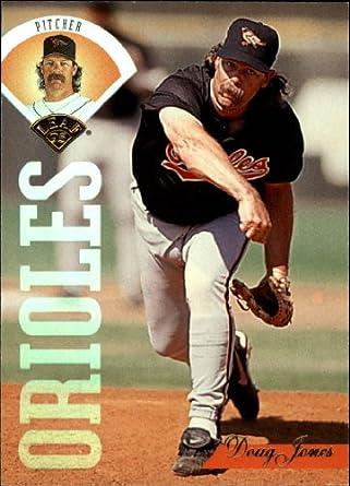 Amazoncom 1995 Leaf Baseball Card 394 Doug Jones Near Mintmint