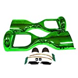 Hoverboard Gold Chrome Best Deals - Segmart 6.5 '' Two Wheel Metallic Color Hover Board Electric Self Balancing Chrome Scooter Outer Shell Replacement DIY (Chrome Green)