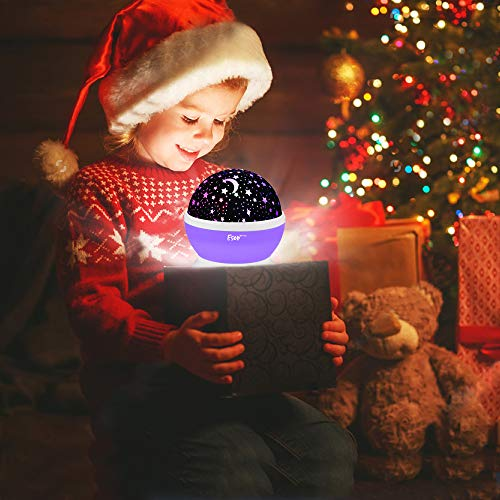 [Update]Esonstyle Musical Night Light,360 Rotating Star Lamp Baby Musical Lamp with Rechargeable Battery,12 Songs to Relax for Sleep Kids Babies Birthday Children Day Christmas Gift by esonstyle (Image #5)