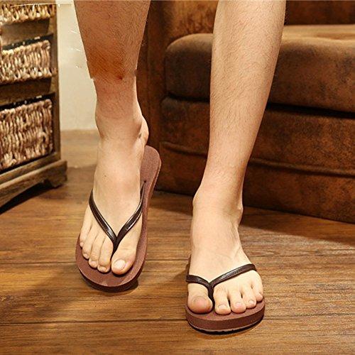 Mujeres Señoras Sandalias Sandalias de los pares sandalias de la manera sandalias de la manera para girs y muchachos Cómodo ( Color : Brown-womam , Tamaño : 39 ) Brown--mam