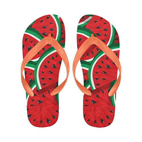 InterestPrint Non-Slip Flip Flop Slippers, Ethnic Indian Elephant Summer Beach Slim Thong Sandal Outdoor Casual Footwear Multi 22