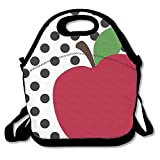 Teacher's Apple Lunch Bag Tote Bag Lunch Organizer Lunch Holder Lunch Container