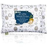Toddler Pillow with Pillowcase - 13X18 Soft Organic...