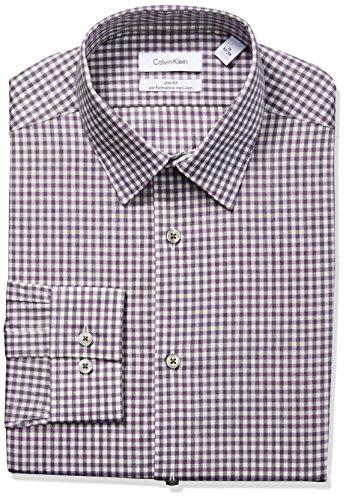 Calvin-Klein-Mens-Non-Iron-Stretch-Slim-Fit-Check-Point-Collar-Dress-Shirt