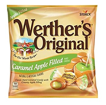 Werther's Original - Caramel Apple Filled Hard Candies - Net Wt. 5.5 OZ (155.9 g) - Pack of 2