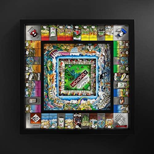 Monopoly World Edition de Charles Fazzino: Amazon.es: Juguetes y juegos