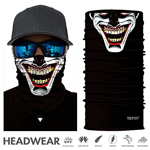 Headwear - CocoCap Versatile Sports & Casual Headband - Stretchable Face Shield and Bandana Neck Gaiter (HR-040374)