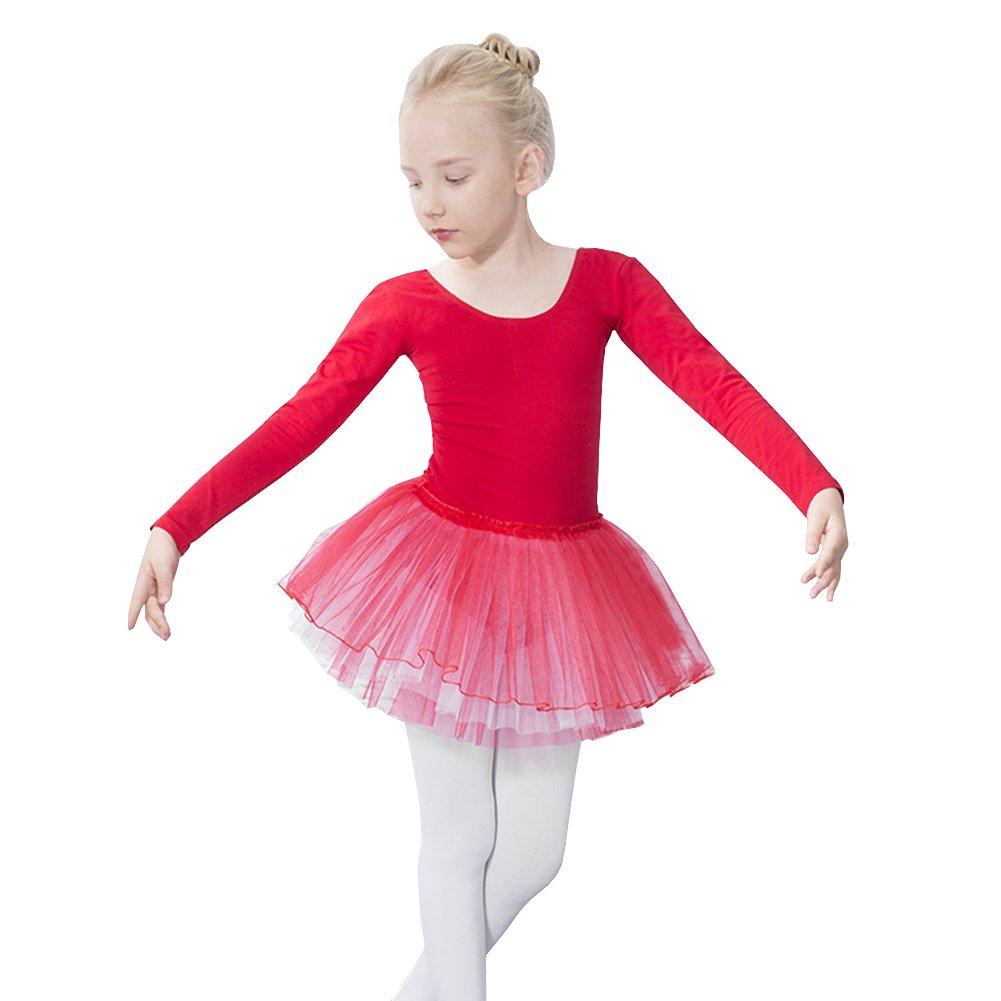 232ad1a73 Lisianthus Girls Tutu Skirted Ballet Dress Dance Gymnastics Leotard ...