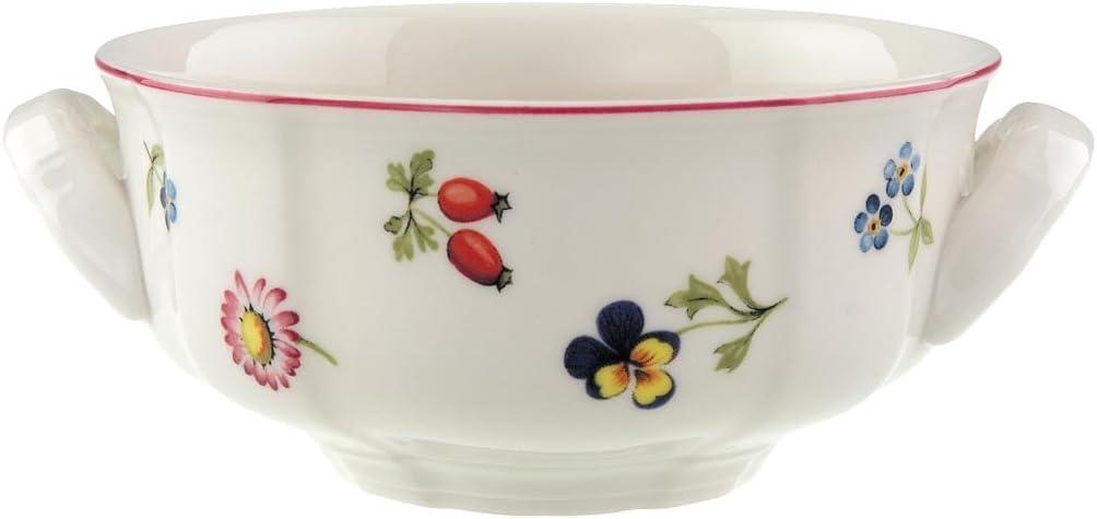 Colorido Villeroy /& Boch Petite Fleur Taza consom/é Porcelana Premium Altura: 5,5 cm 350 ml