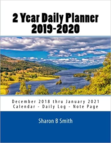 2020 December Monday Thru Friday Calendar 2 Year Daily Planner 2019 2020: December 2018 thru January 2021