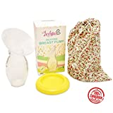 Lechitas BPA Free Silicone Breast Pump With Lid