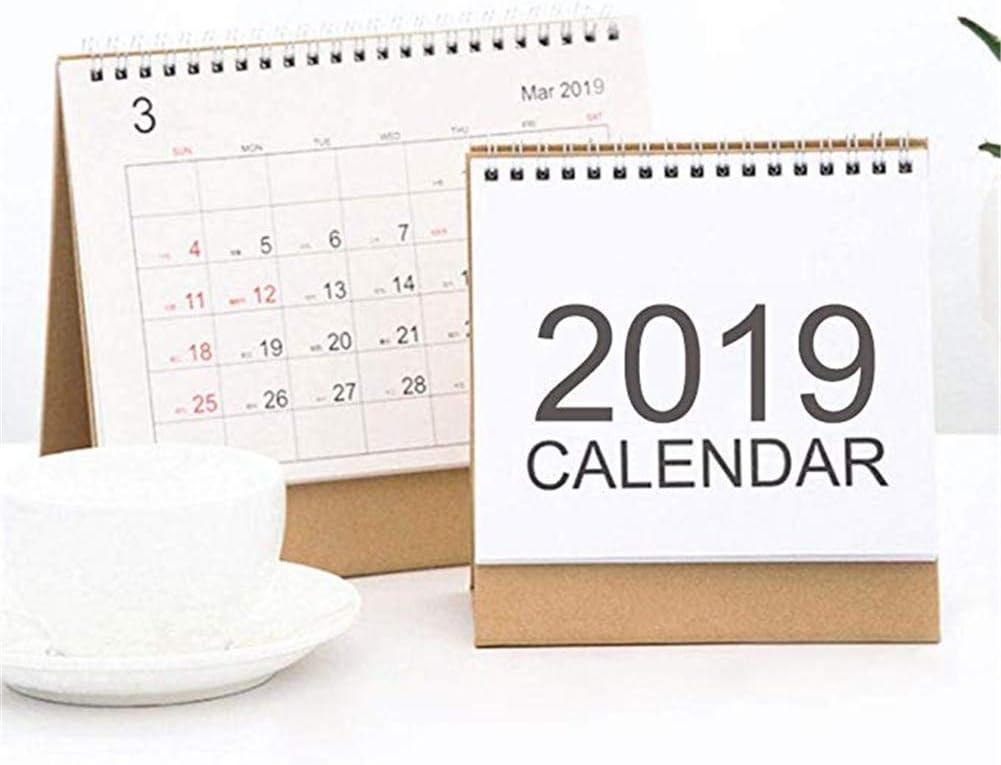 EisEyen Calendario 2019-2020 Calendario de papel de escritorio ...