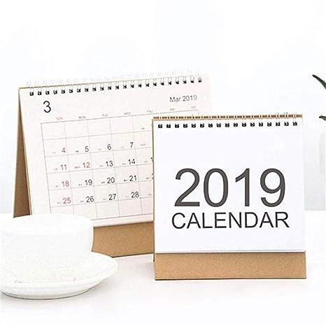 EisEyen Calendario 2019-2020 Calendario de papel de ...