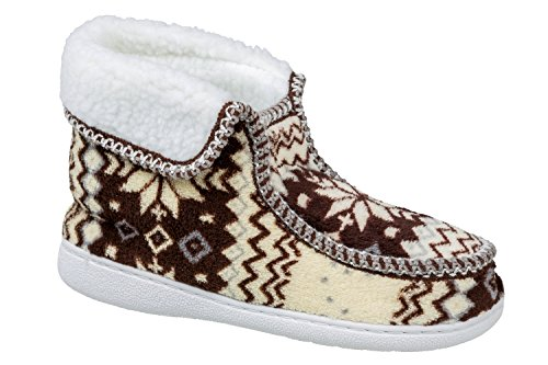 gibra Women's Slippers Brown FVyZqS4J
