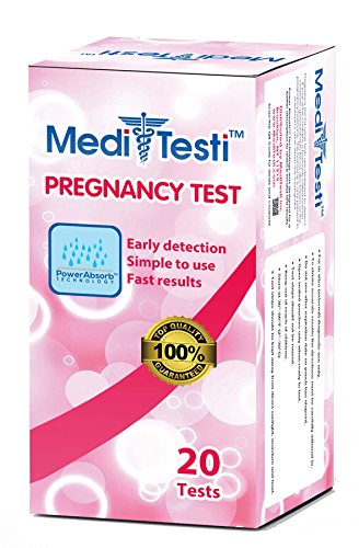 MediTesti™ Pregnancy Test - Early Detection with Power Abs