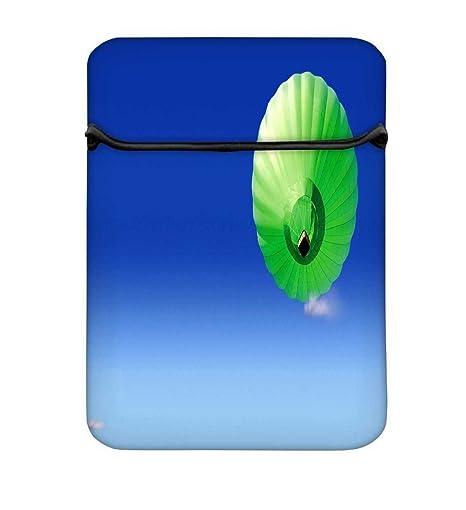 Verde globos de paracaídas 13 A 13,6 pulgadas bolsa de funda protectora para MacBook