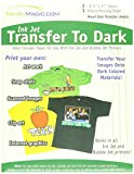 Transfer 8-1/2-Inch by 11-Inch Magic Ink Jet Transfer Paper for Dark Fabric, 3-Pack