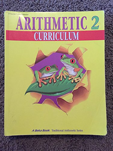 A Beka Book Home School Arithmetic 2 Curriculum/Lesson for sale  Delivered anywhere in USA