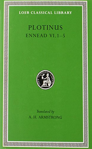 Plotinus-Volume-VI-Ennead-VI1-5-Loeb-Classical-Library-No-445