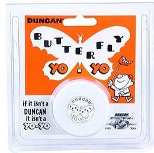 Duncan Vintage Replica - Duncan Vintage Wood Replica Butterfly Yo-Yo - White