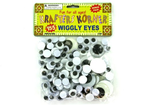 Craft Wiggly Eyes - Case of 144 by krafters korner