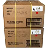 Western Frontier MRE 2019 Inspection Date Case A and Case B Bundle, 24 Meals Packed in 2016. Military Surplus Meal Ready to E