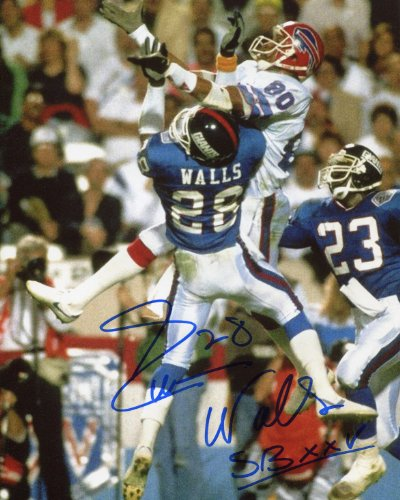 Everson Walls Signed 8x10 - New York (Giants Photograph)