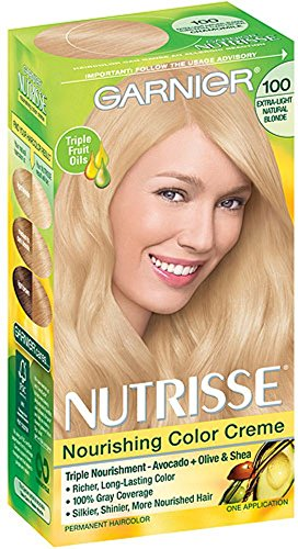 Garnier Nutrisse Nourishing Color Creme, Extra-Light Natural