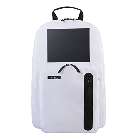 BirkSun Glacier White Edition - Solar Backpack with 3 f4468a7d6934d