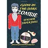 Glow-in-the-Dark Zombie Sticker Paper Doll