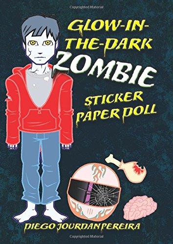 Glow-in-the-dark Zombie Sticker Paper