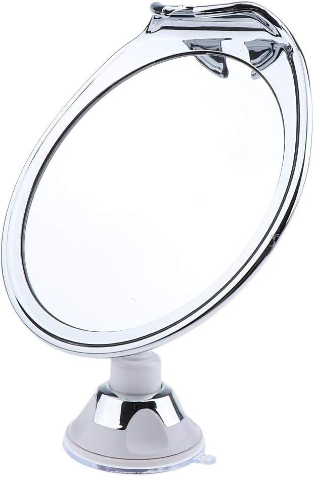 Toygogo 360/° Drehbar Kosmetikspiegel Schminkspiegel Tischspiegel mit Saugn/äpfen