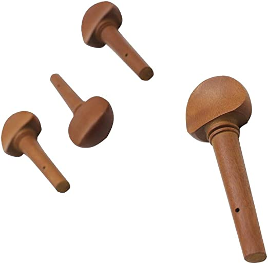 4 stücke Professionelle Jujube Holz Cello Stimmwirbel Violon