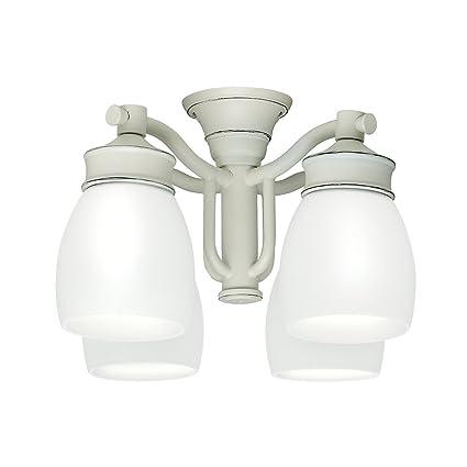 online store 860a6 baacd Casablanca 99089 Outdoor 4 Light Fixture, Cottage White ...