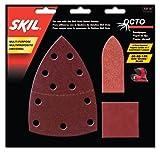 SKIL 73114 Octo Sandpaper Kit, Asst Grit - 15 Pack фото